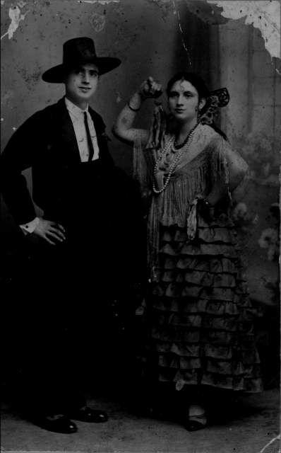 Bailando Boleros, 1930.
