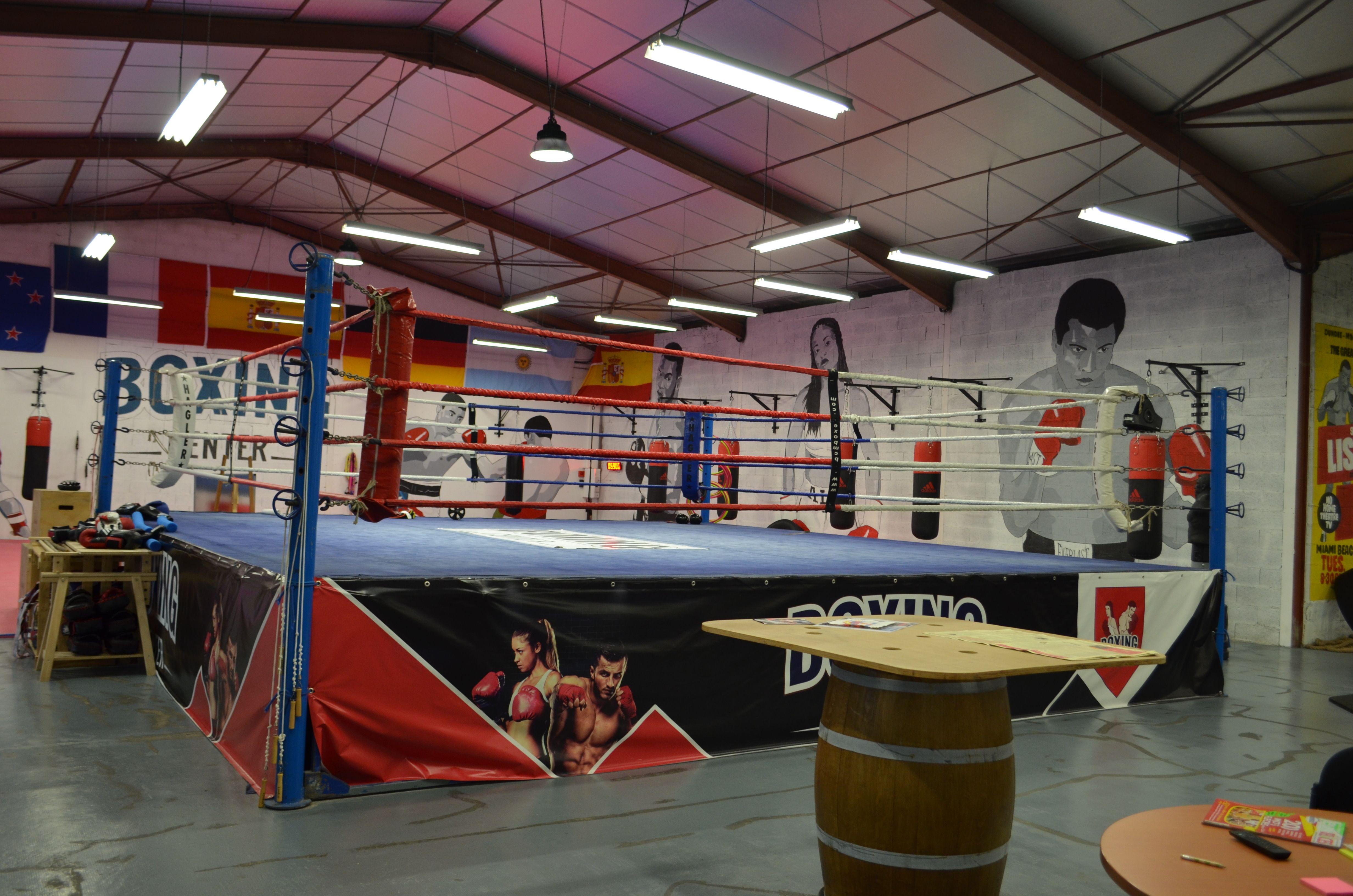 salle de boxe à Portet sur Garonne Salle de boxe, Boxe