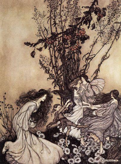 Arthur Rackham - Fairies Dancing