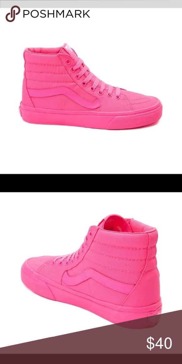 Hot pink high too vans | Vans shoes