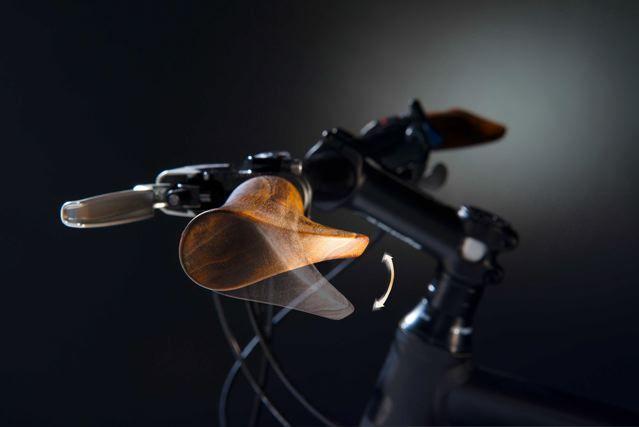 Fahrradgriffe aus Holz  © Velospring