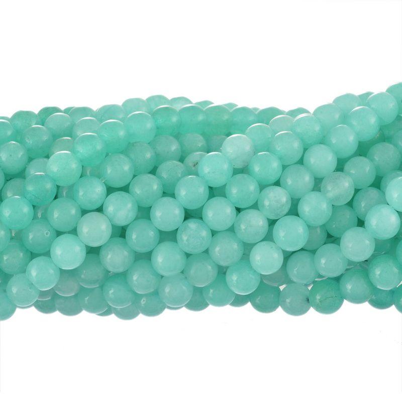 100Pc 8 mm rond en métal creux perles Loose Spacer Bead for À faire soi-même Jewelry Making