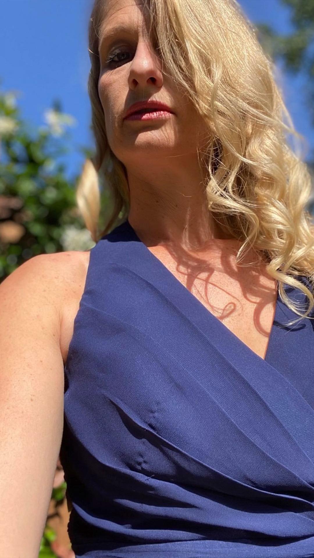 Matchimony Halterneck Navy Blue Bridesmaid Dress #matchimony #navyblue #wedding #bridesmaiddress