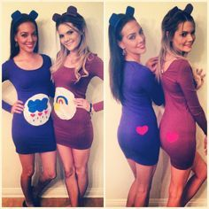 Cute Bff Halloween Costume Ideas  sc 1 st  Pinterest & Cute Bff Halloween Costume Ideas | Halloween Costumes | Pinterest ...