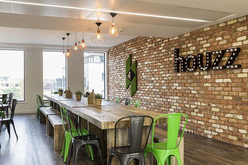 Les nouveaux bureaux de la start-up Houzz à Londres | Office ...