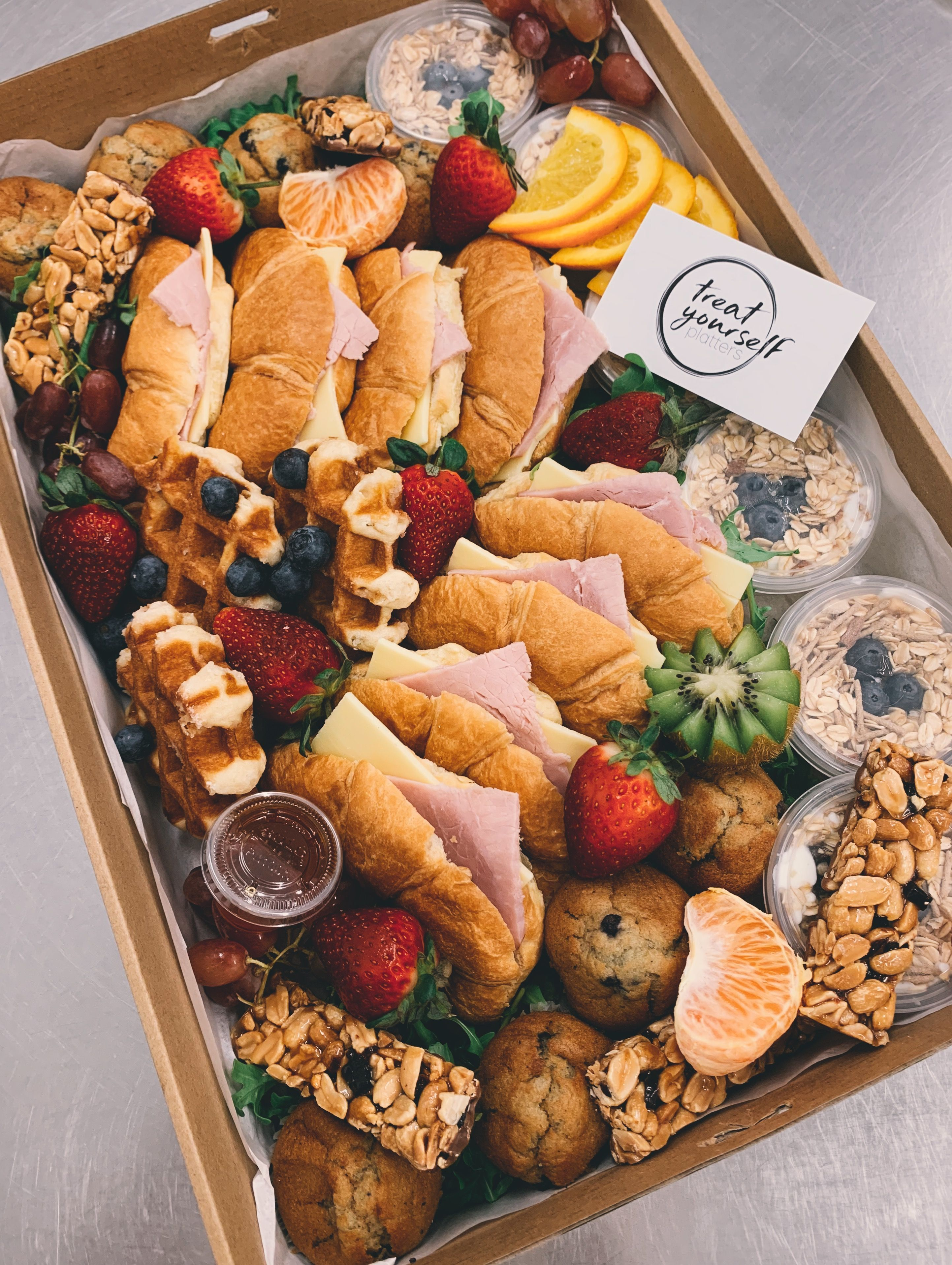 Brekky Box Breakfast Platter Box The Effective Pictures We Offer You About Grazing Tables Recipes A Quality Breakfast Picnic Breakfast Platter Picnic Food