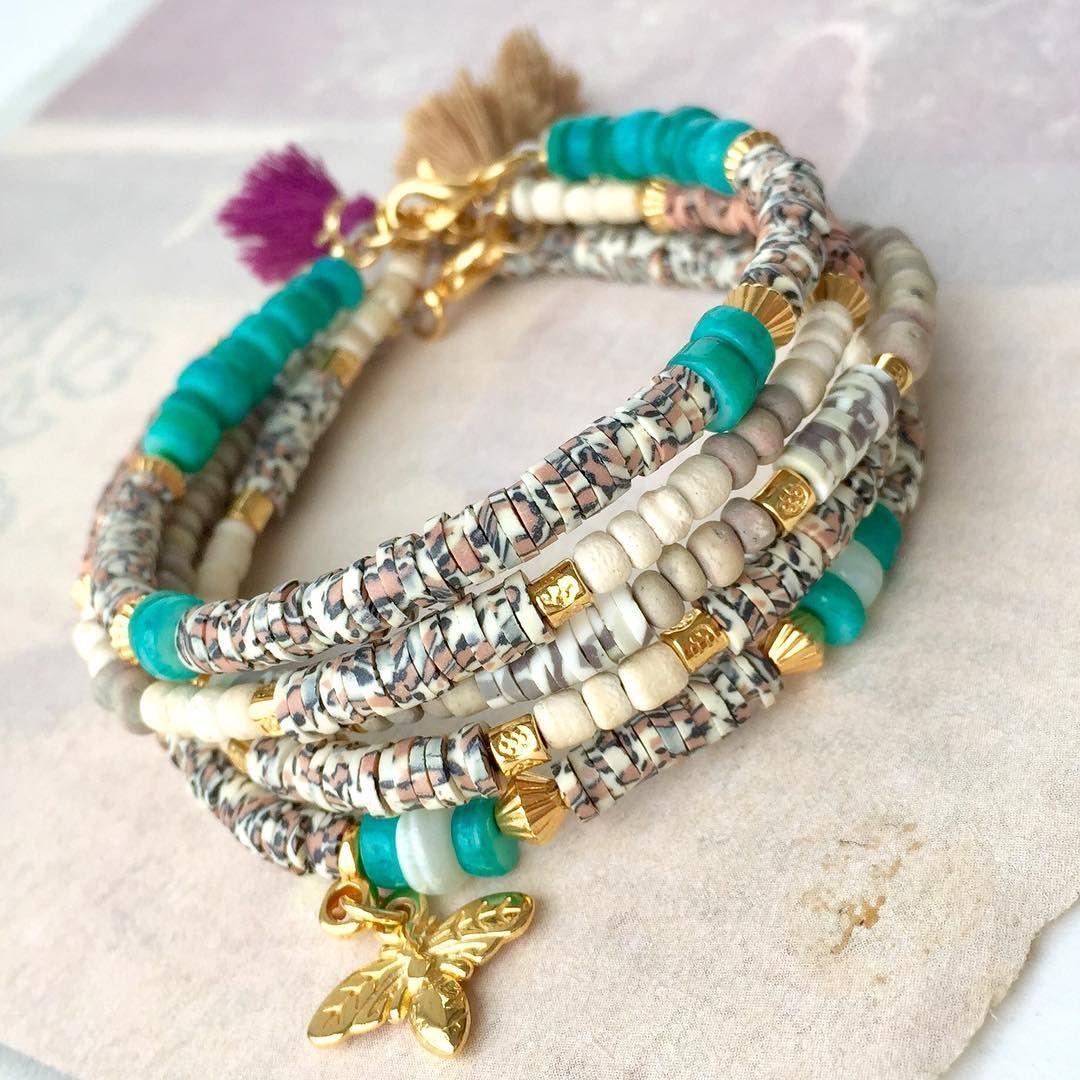NEU! Katsuki Perlen mit animal und army print #perlengrosshandel ...