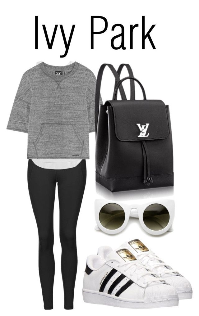 """""""Slay All Day: Style Beyonce's Ivy Park!"""" by carolsantana1107 ❤ liked on Polyvore featuring Topshop, Ivy Park and adidas"""