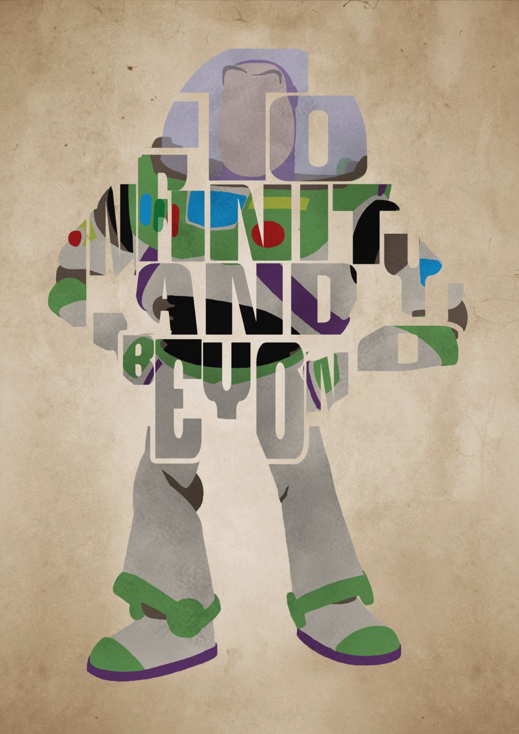 Wallpaper iphone toy story - Buzz Lightyear Toy Story Poster Minimalist