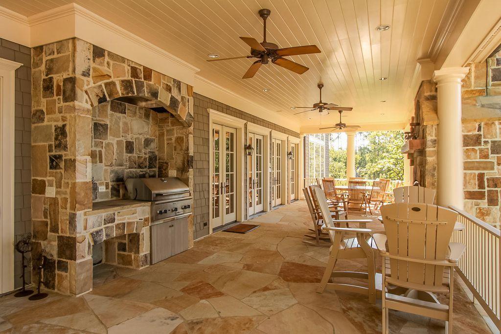 837 Confederate Dr Modoc Sc 29838 Zillow Traditional Porch Stone Flooring Exterior Stone
