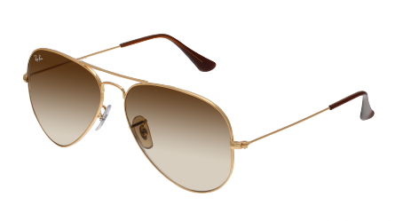 00151 Ban Rb3025 DégradéAtemporelles Ray Marron Aviator Or Et TlFKJ1c3