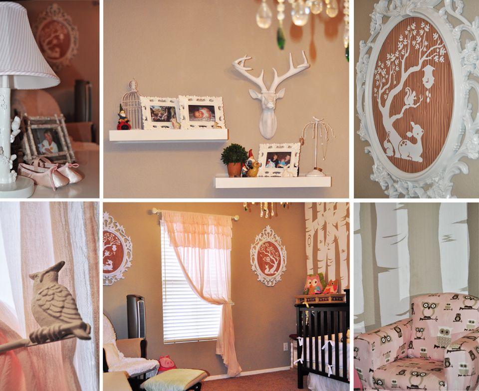 Woodland Toddler Nursery Room