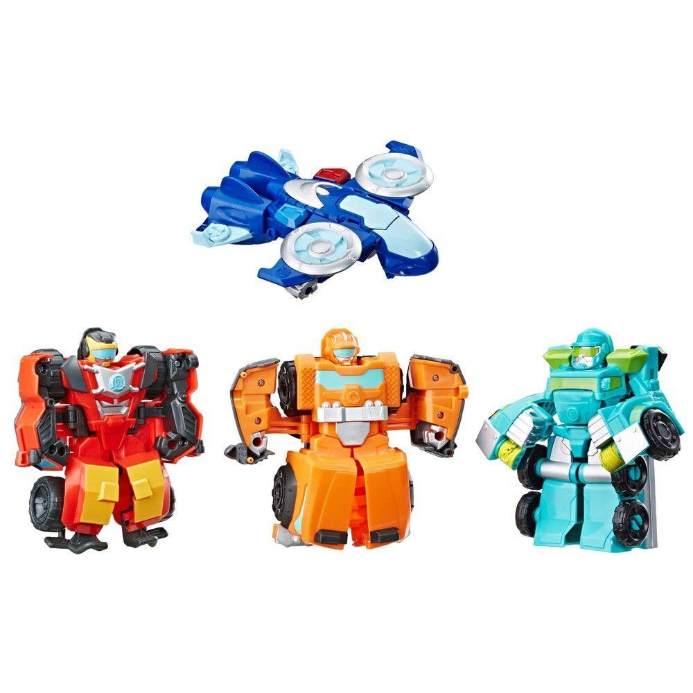Transformers Rescue Bots Academy Rescue Team 4pk Transformers Rescue Bots Rescue Bots Transformers