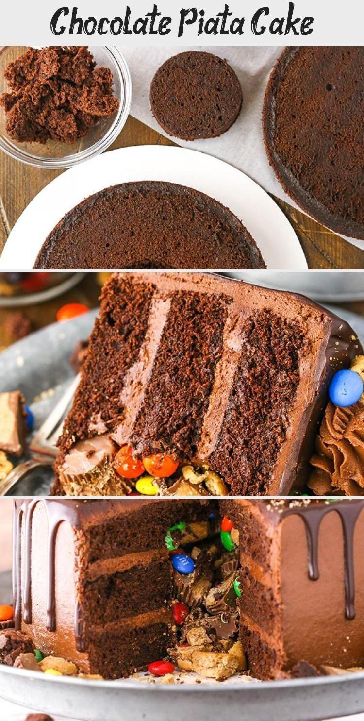 Photo of Schokoladen-Piñata-Kuchen – Lebensliebe und Zucker #PinataKuchenEinfach #Pinata…