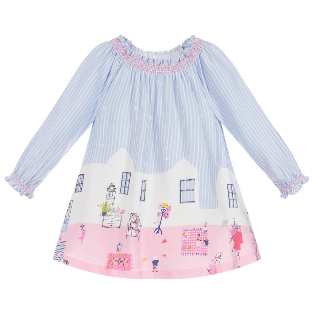 b962c7c17b74 Baby Girls ELISE Printed Dress for Girl by Joules. Discover more beautiful designer  Dresses for kids online