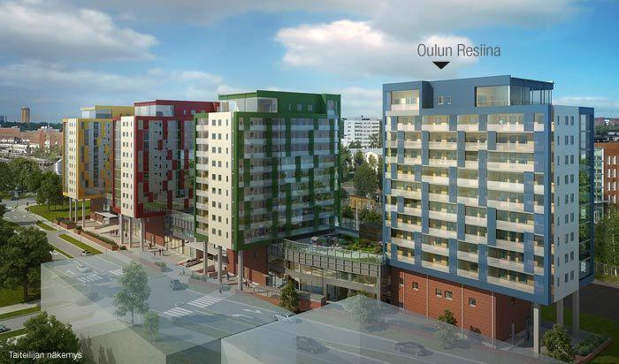 Asunto Oy Oulun Resiina – YIT Koti