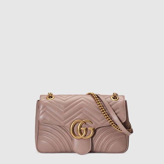 4d6583f82 Bolso de Hombro GG Marmont de Matelassé - Gucci Bolsos de Hombro de Mujer  443496DRW3T5729