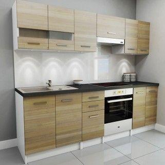 Zestaw Mebli Kuchennych Dab Sonoma 2 4 M Meble Kuchenne Kuchnia Katalog Produktow Kitchen Cabinets Home Decor Kitchen