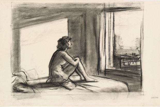 Photo of Edward Hopper's Drawings That Will Blow Your Mind – DailyArtMagazine.com – Art History Stories