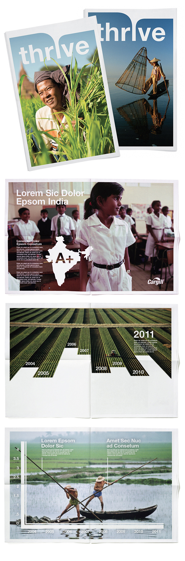 Cargill Brand Expression by Kyle Hames, via Behance