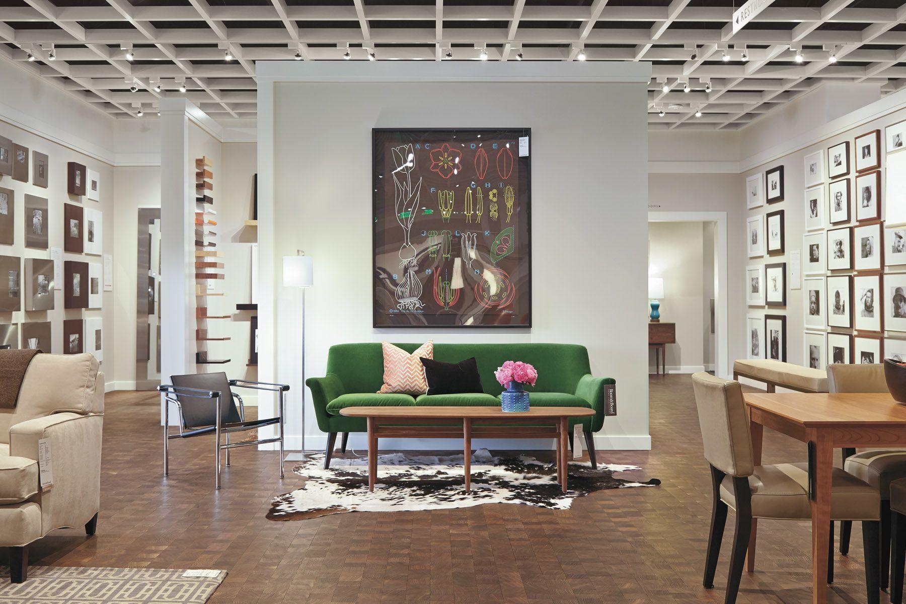 Interior Of Seattle Wa Modern Furniture Stores Furniture At