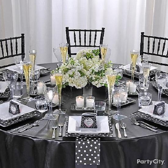 Attractive Awesome PArty Dinner Table Setting Ideas