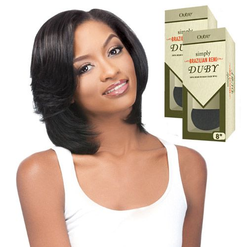 Outre Simply Remy Human Hair Weave Brazilian Remi Duby 8