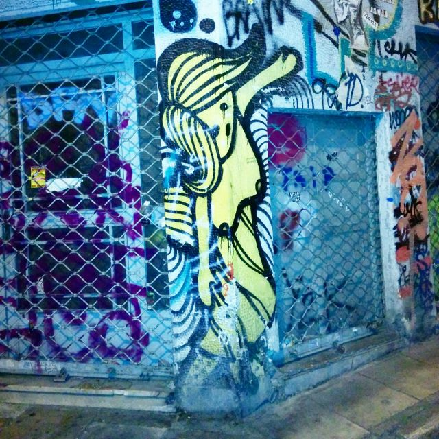 Street art in Athens - This is my B. world