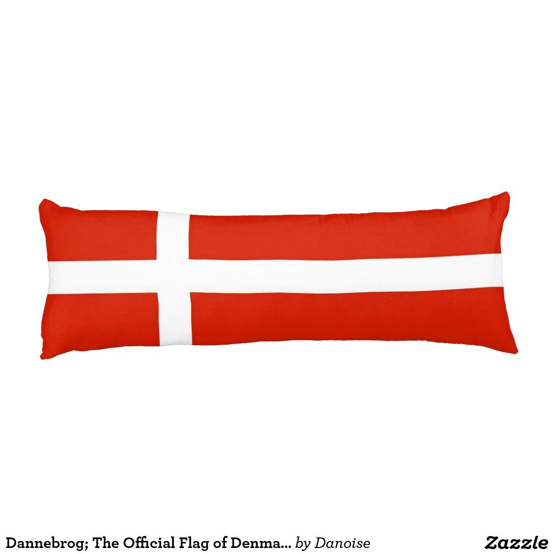 Dannebrog The Official Flag Of Denmark Body Pillow I Love - Denmark flags