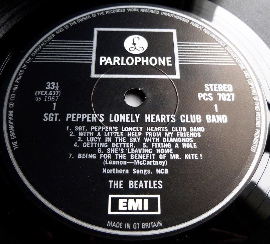 The Beatles Sgt Peppers 1969 Uk Parlophone One Emi Box