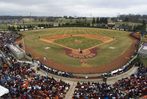 Virginia Tech English Field Baseball Stadium Baseball Field Virginia Tech