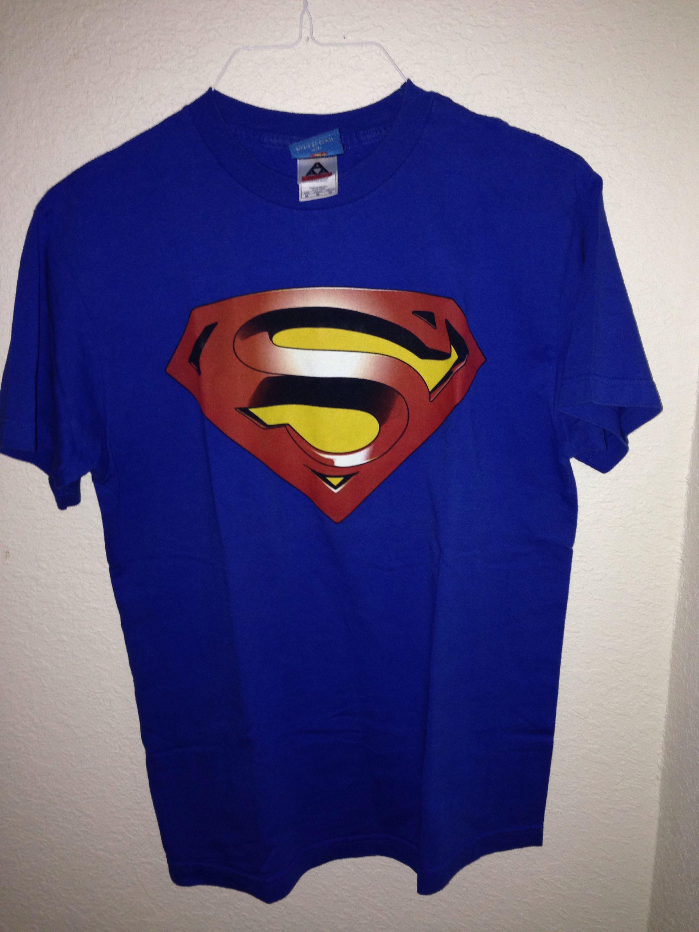 62a375f2188a7 Superman Tshirt- Superman Returns