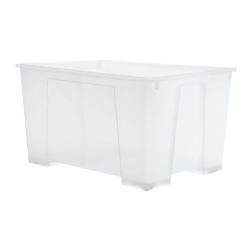 Ikea Boxen Samla : box samla transparent shopping list ikea ikea storage boxes ikea boxes ikea storage ~ Watch28wear.com Haus und Dekorationen
