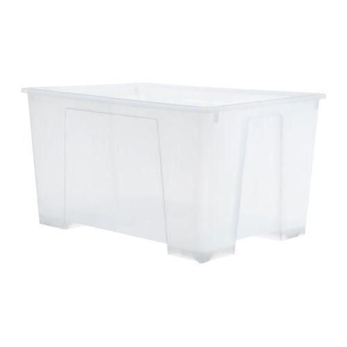 Samla contenitore trasparente laundry toy storage and ikea storage boxes - Ikea scatole plastica trasparente ...