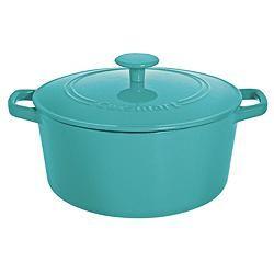 Cuisinart Round Cast Iron Casserole Dish Provides Superior Heat