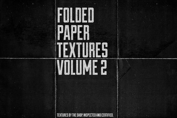 #Free Folded #paper #textures volume 02 by The Shop on Creative Market