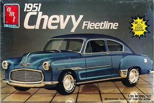 1951 Chevy Fleetline 2 N 1 1 25 Fs Model Cars Kits Plastic Model Kits Cars Plastic Model Kits