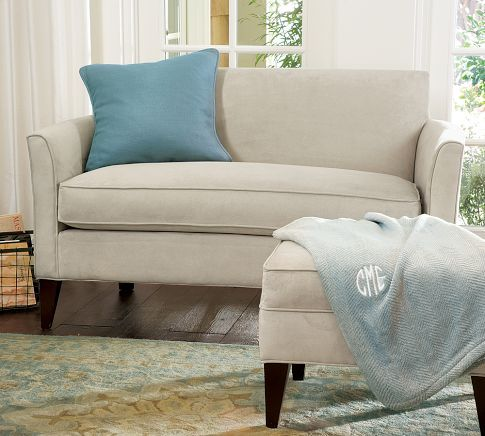 Marcel Upholstered Mini Sofa With
