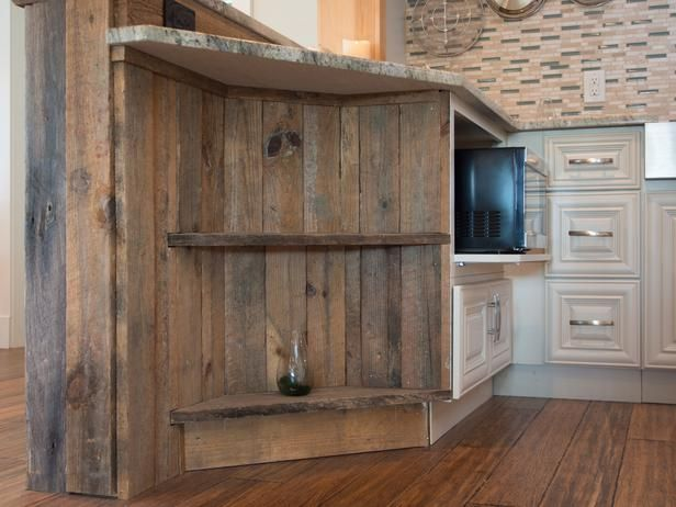 Reclaimed Fence Post  For Kitchen Island