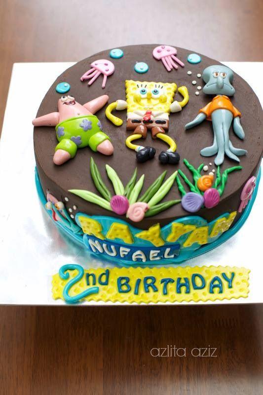 SpongeBob cake - love it!