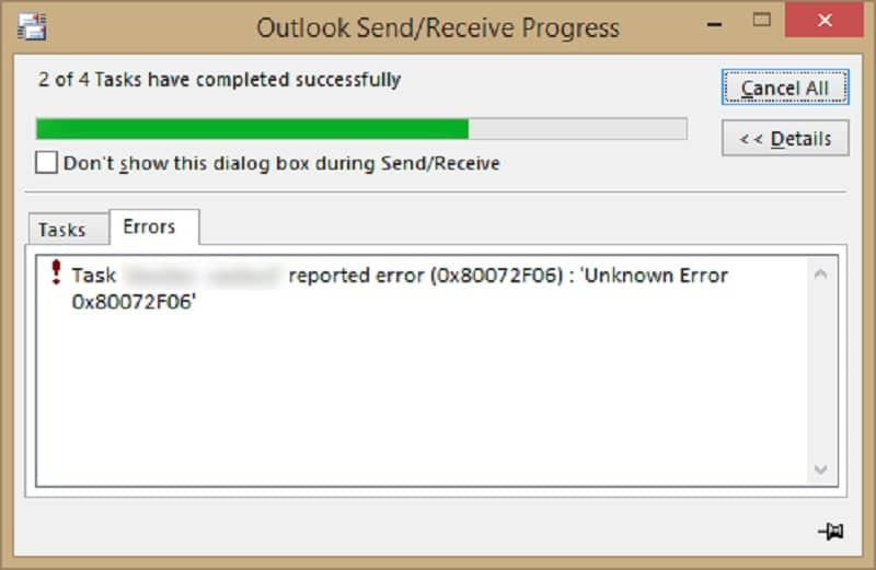 Fix Outlook Error Code 0x80072f06 Error Code Coding System Restore
