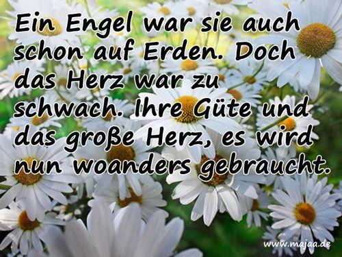 Bild Trauerkarten U2013 Ein Engel War .