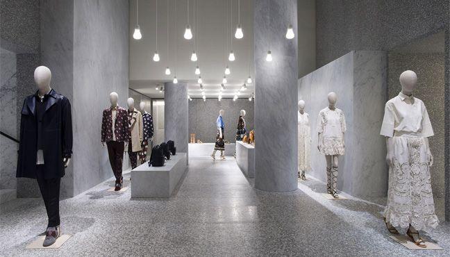 Valentino : Nouveau magasin à Rome.