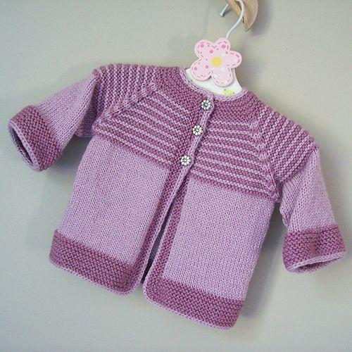 Garter yoke baby cardigan free knitting pattern pinteres garter yoke baby cardigan free knitting pattern more dt1010fo