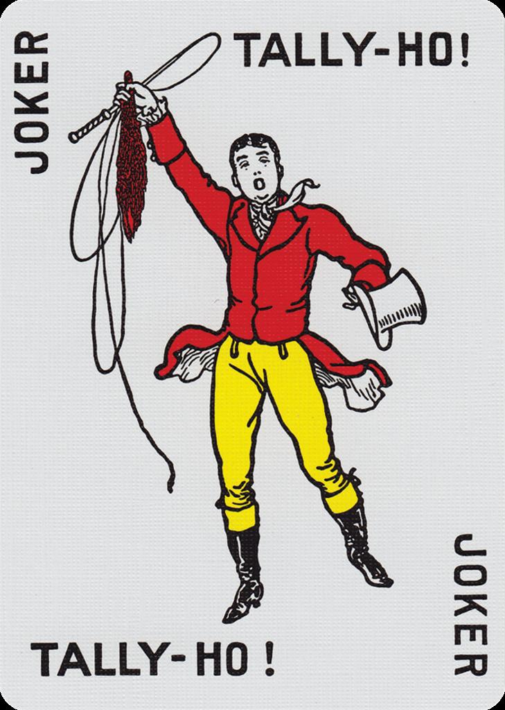 The Joker from TallyHo® Fan Back Playing Cards Joker