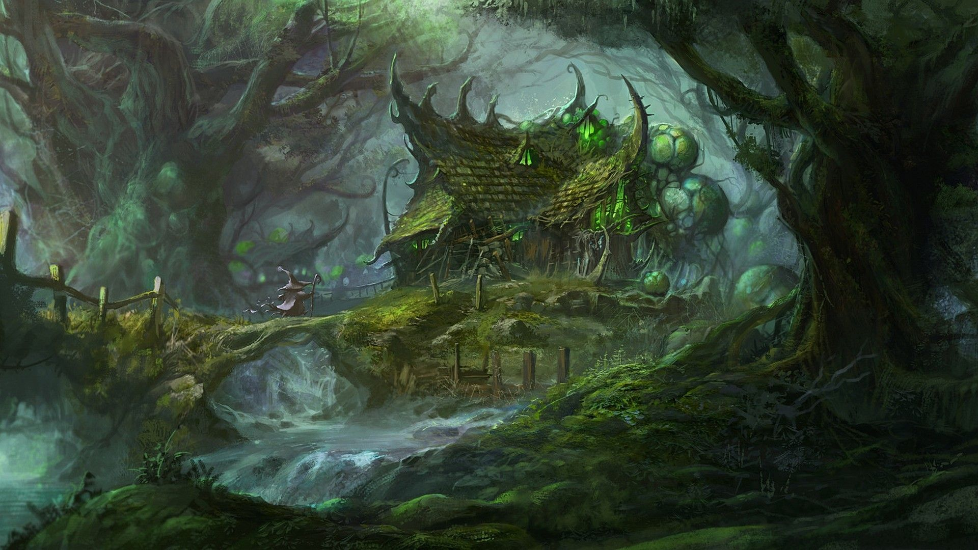 1920x1080 Fantasy Forest Wallpaper Fantasy Forest Forest Art Fantasy Pictures
