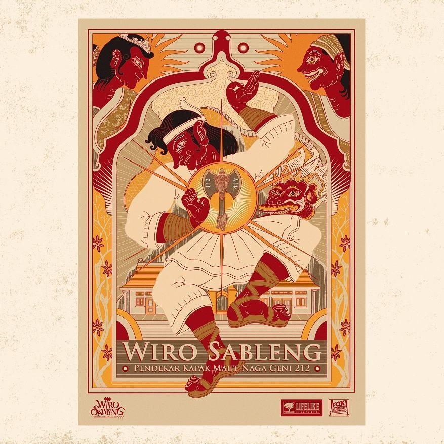 Pemenang Ketiga Lomba Desain Poster Film Wiro Sableng