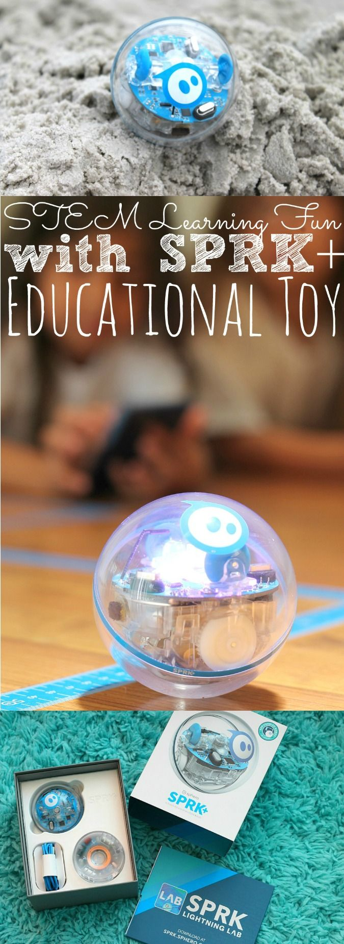 STEM Learning Fun With SPRK+ Educational Toy - (ad) abccreativelearning.com