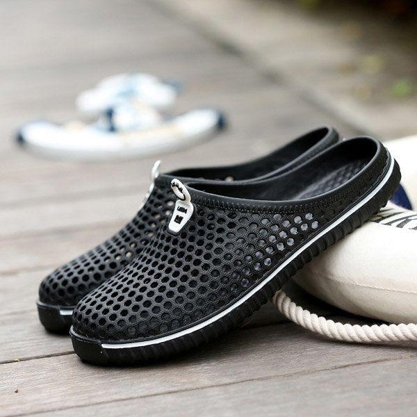 Grande Taille Évider Plage Respirant Chaussures De Sport OMkg4oPCcS