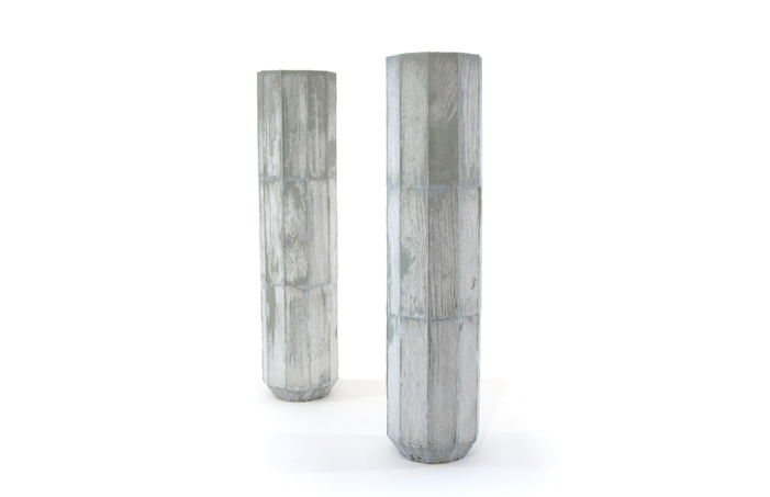 Timberform A Serie Of Vases Inspired By The Appearance Of Iconic
